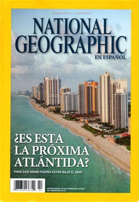 National Geographic En Espanol Magazine  32015 Cover