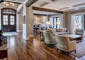 Traditional, Great, Room, With, Carpet, By, Dillard