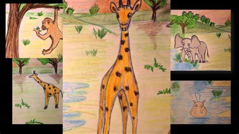 la giraffa vanitosa fiaba africana jamila la giraffa vanitosa