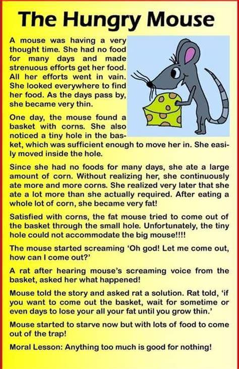 hungry mouse english stories  kids english story