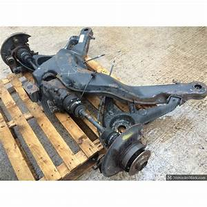 W126 Sec Series Ii Genuine Mercedes Rear Sub Frame Radius Arms  Drive Shafts And Differential
