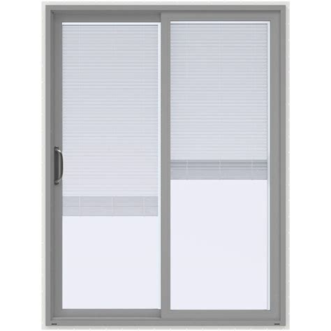 steves and sons patio doors steves sons 60 in x 80 in white prehung primed left