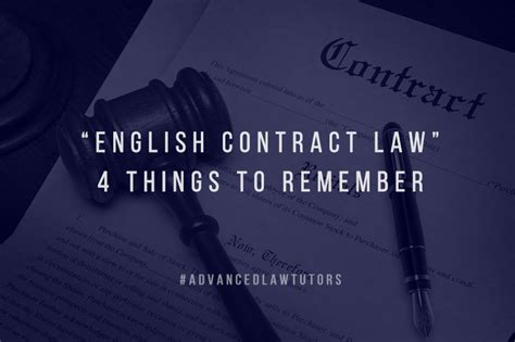 english contract law    remember advanced law