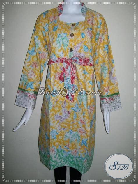 dress batik ukuran besar  wanita gemukmodel dress