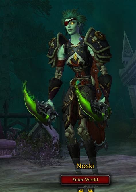 rogue transmogs transmog hunter legion raid marksman