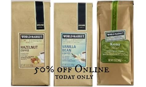 World Market Coffee 50% Off Or B1g1  Southern Savers