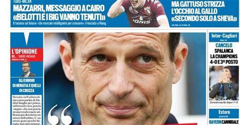 EDICOLA TS – Inter, Cancelo spalanca la Champions. 4-0 e ...