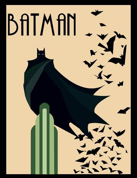 14 best deco posters images on deco posters batman and batman poster