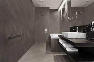 Beton Cire Berlin : cement muur badkamer ~ Lizthompson.info Haus und Dekorationen
