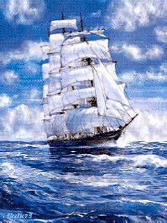 Barco En Una Tormenta Dibujo by парусник анимация на телефон 793868