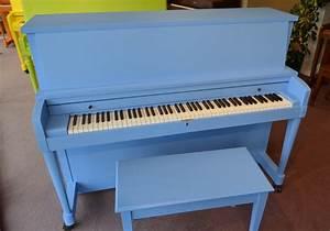 1963 Baby Blue Baldwin Hamilton Studio Piano