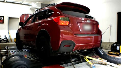 turbocharged subaru crosstrek xv hp tq youtube