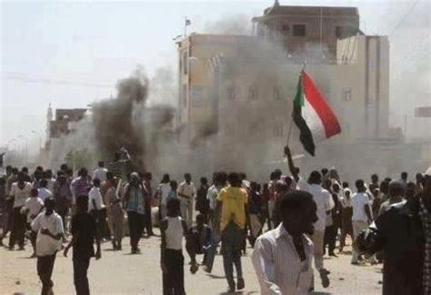 sudan protests security officials shoot  messenger