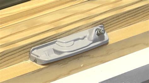 replace  crank handle  cover  custom wood casement windows youtube