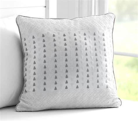 metallic embroidered decorative pillows pottery barn kids