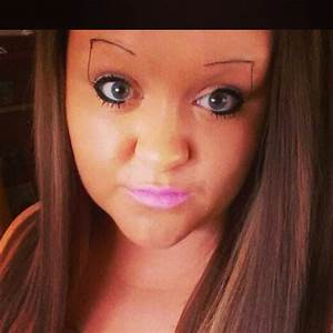 Here They Are. The Worst Eyebrows In The World. Wow, These ...