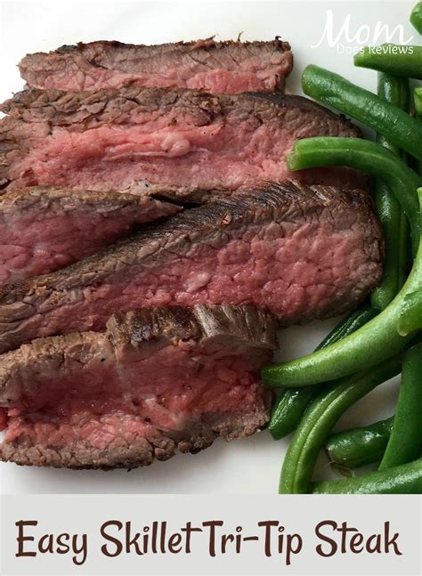 tri tip steak recipe quick and easy skillet tri tip steak