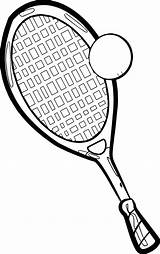 Tennis Coloring Court Drawing Racket Pages Colouring Getdrawings Printable Getcolorings sketch template