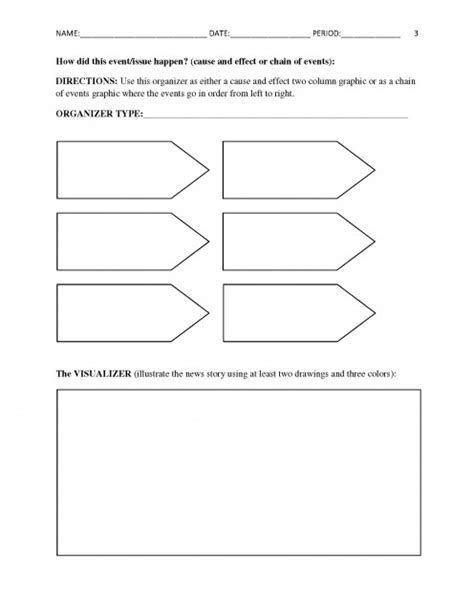 Free Current Events Report Worksheet For Classroom Teachers Hubpages