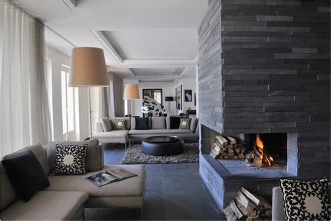 The Pros And Cons Of A Modern Stone Fireplace Fireplace