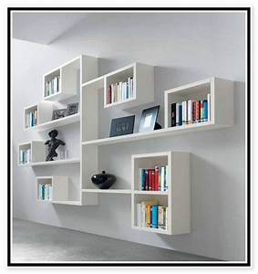 Artistic Hanging Wall Shelves for Gorgeous Room Interiors