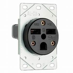 Pass  U0026 Seymour 3801 Straight Blade Power Outlet Receptacle 30