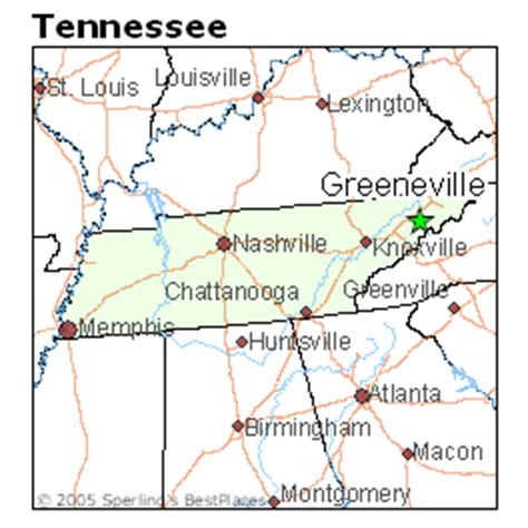 places    greeneville tennessee