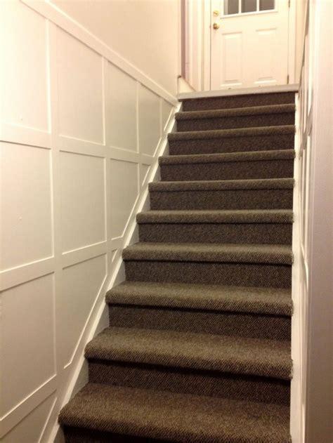 stair molding diy tutorial supplies list