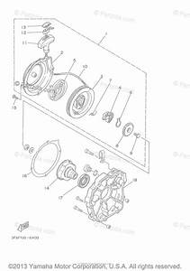 Yamaha Atv 2001 Oem Parts Diagram For Alternate Engine