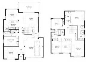 5 bedroom 2 story house plans 2 storey house designs and floor plans search