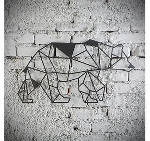 Décoration Murale En Métal : bear metal wall decoration artwall and co ~ Dailycaller-alerts.com Idées de Décoration