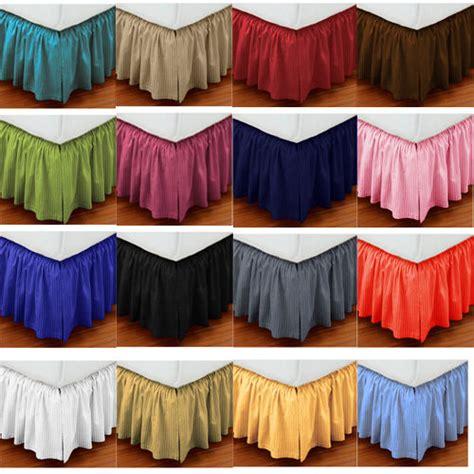 split corner bed skirt split corner 1000tc cotton ruffle bed skirt