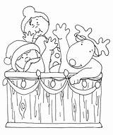 Santa Stamps Dearie Tub Digi Dolls Coloring Colored Would Want Version Gmail Send Results September sketch template