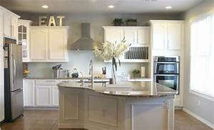 white kitchen wall cabinets newsonairorg With kitchen colors with white cabinets with creating wall art