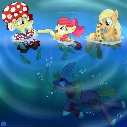 Deviantart Swimmer Granny Pony Mlp Equestria Stuff