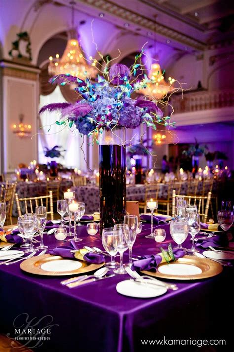 Best 25 Purple Centerpiece Ideas On Pinterest Wedding