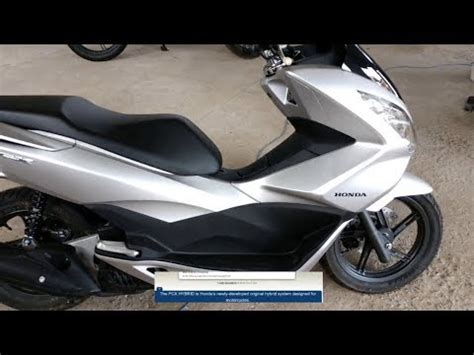 Honda Pcx 2018 Scooter Goes Hybrid And Electric