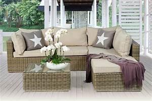 Rattanmöbel Garten Lounge : rattan lounge natural rattanm bel ~ Markanthonyermac.com Haus und Dekorationen