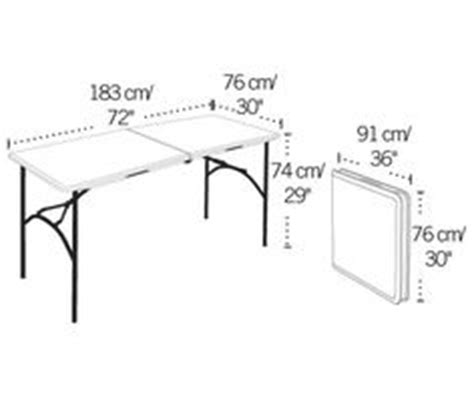standard folding table size fresh 1000 images about design data on pinterest dining