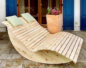 Holz Für Den Außenbereich : schaukelliege ~ Sanjose-hotels-ca.com Haus und Dekorationen
