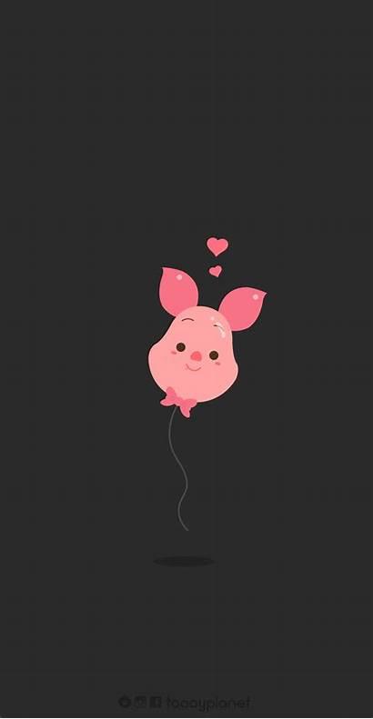 Disney Piglet Wallpapers Cartoon Pooh Iphone Phone