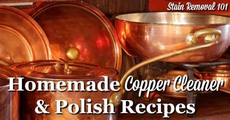 homemade copper cleaner polish recipes