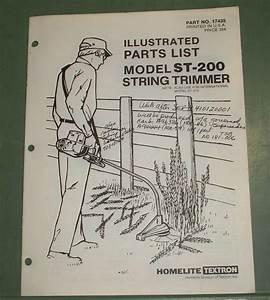 Homelite Parts List St