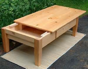 pine top coffeetable