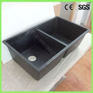cheap double kitchen sink china factory cheap price double bowl resin stone kitchen
