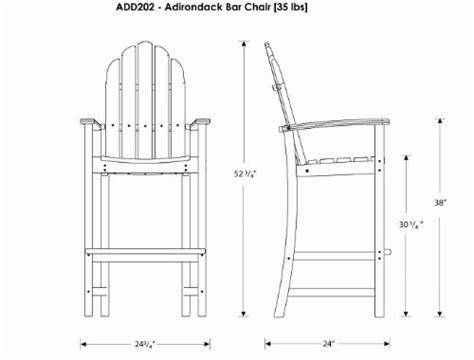 adirondack bar chair plans quotes