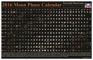 2016 Moon Phase Calendar