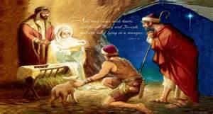happy birthday jesus proclaiming the