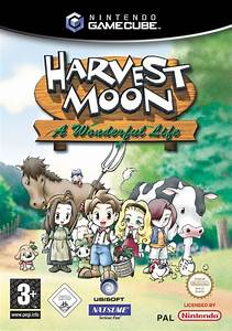 Harvest Moon A Wonderful Life Box Shot For Gamecube