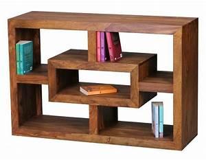 Bücherregal Modernes Design : b cherregal aus massivholz f r ein gem tliches ambiente ~ Sanjose-hotels-ca.com Haus und Dekorationen